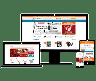 Mimcart Ecommerce Solution Customize Design