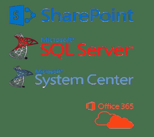 Microsoft Sharepoint System Center SQL Server