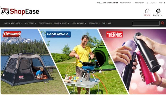 Shopease.pk Ecommerce Solution Mimcart